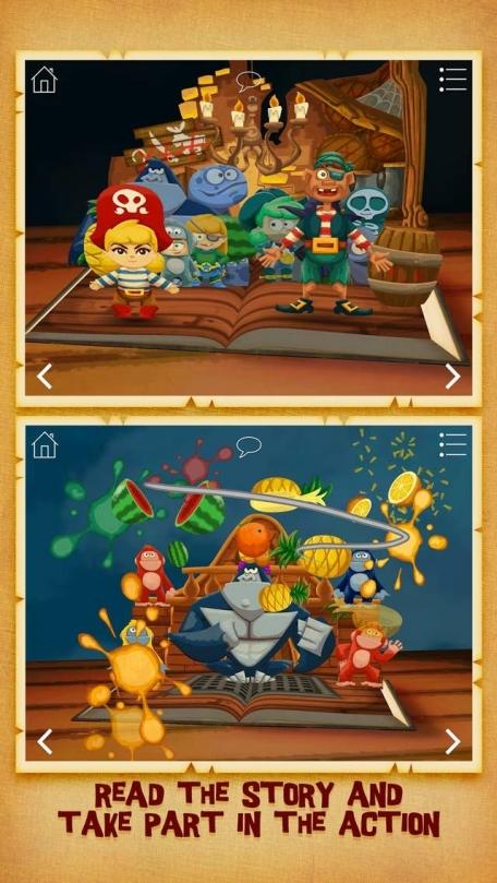 The Pirate Princess ~ 3D Interactive Pop-up Book