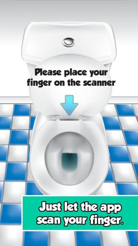 The Poop Calculator A Funny Fingerprint Scanner With Bathroom