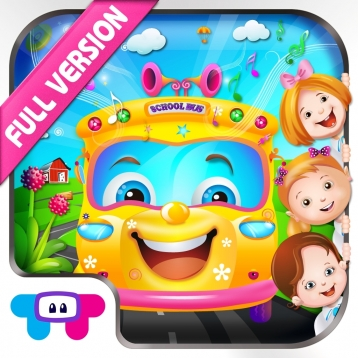 The Wheels On The Bus - All In One Educational Activity Center and Sing Along : Full Version