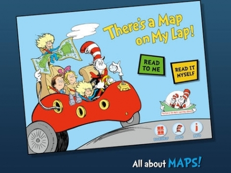 There's a Map on My Lap! (Dr. Seuss/Cat in the Hat)