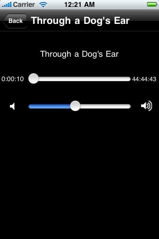 Through a Dog's Ear Using Sound to Improve the Health & Behavior of Your Canine by Joshua Leeds and Susan Wagner - iPhone version