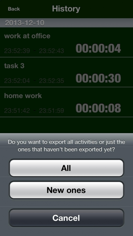 Time logger tool for track and analyze your time. Free