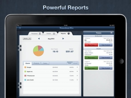 Timesheet Pro - Time Tracking, Invoicing and Billing