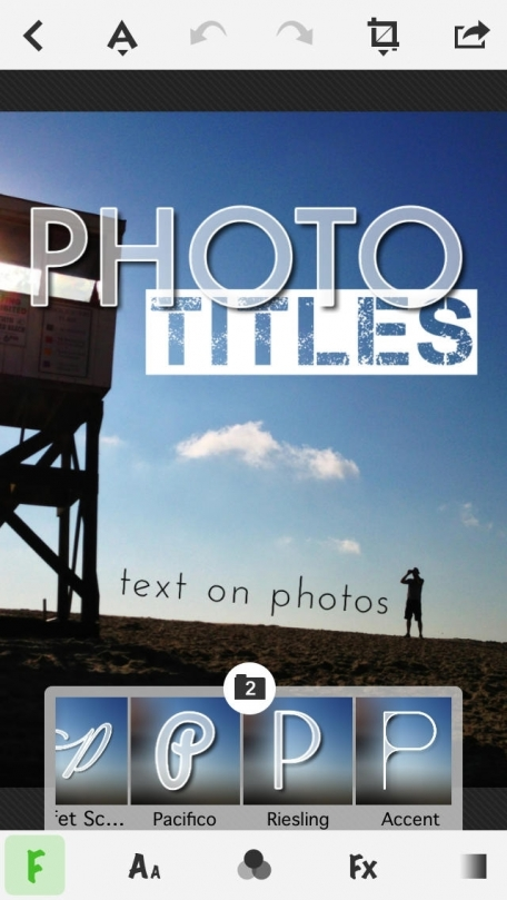 TitleFx - Caption Photos, Make Flyers and Write on Pictures with Cool Fonts, Effects and Colors