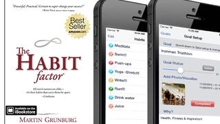 The Habit Factor®, Habits & Goals Tracker: Set Goals, Align Habits to Reach Your Goals, Achieve New Year's Resolutions