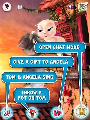 Tom Loves Angela for iPad