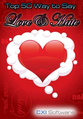 Top 50 Ways to Say I Love and Hate You - Express yourself