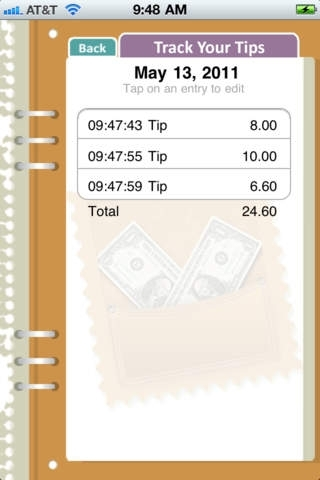 Track Your Tips