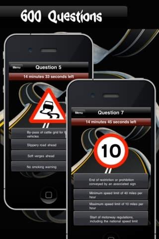 Traffic Signs UK Free - (Road Signs Quiz)