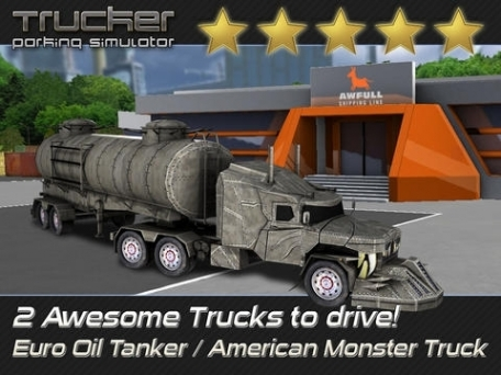 Trucker: Parking Simulator - Realistic 3D Monster Truck and Lorry 'Driving Test' Racing Game Pro