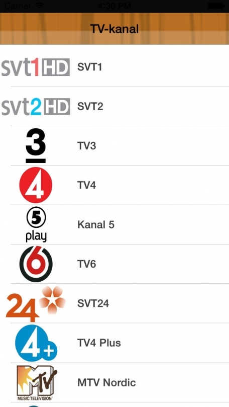 sweden tv program