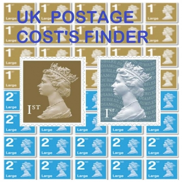 UK Postage Costs Calculator and Ebay Delivery Calculation