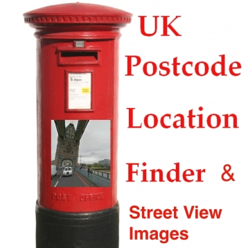 UK Postcode Location Finder and Streetview Images & Navigon/Map Route