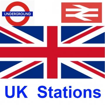 UK Train and Underground Stations Finder