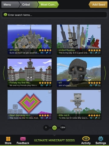 Ultimate Seeds for Minecraft