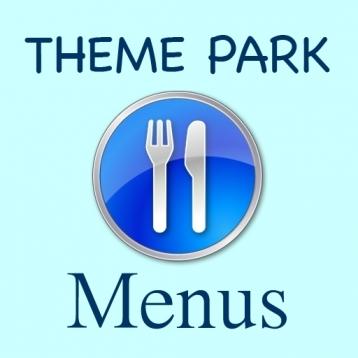 Ultimate Theme Park Menus