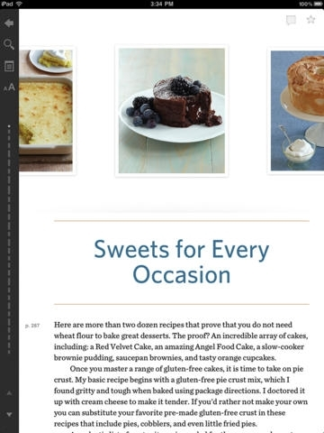 Unbelievably Gluten-Free! by Anne Byrn - Official Cook Book, Inkling Interactive Edition