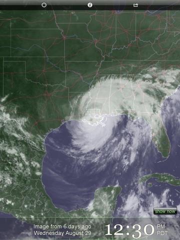 Upweather - beautiful satellite and forecast weather