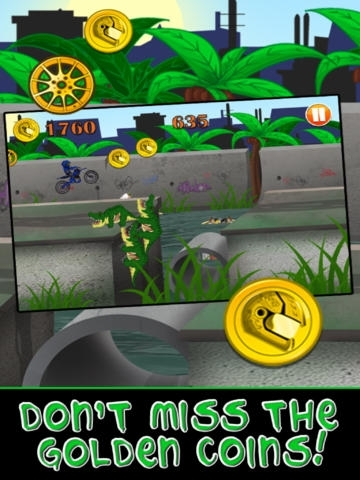 Motorcycle Bike Race Escape : Speed Racing from Mutant Sewer Rats & Turtles Game - For iPhone & iPad Edition