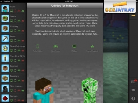 Utilities 13 in 1 for Minecraft