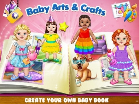 Baby Arts & Crafts - Care, Play, Paint and Create Your Memory Book