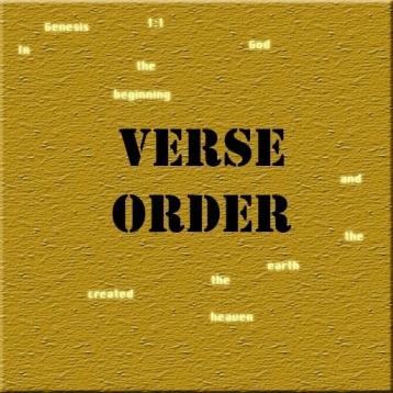 Verse Order