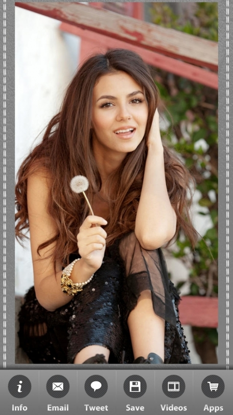 Victoria Justice Wallpapers Entertainment App Review IOS 199