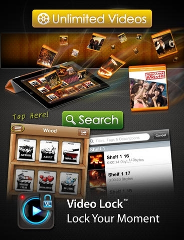 Video Lock HD PRO - Simple, Secure, and Stylish Private Showcase