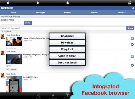 download manager video facebook
