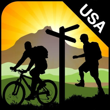 ViewRanger Outdoors GPS (USA) - Topo Maps, Trail Navigation and Route Tracker