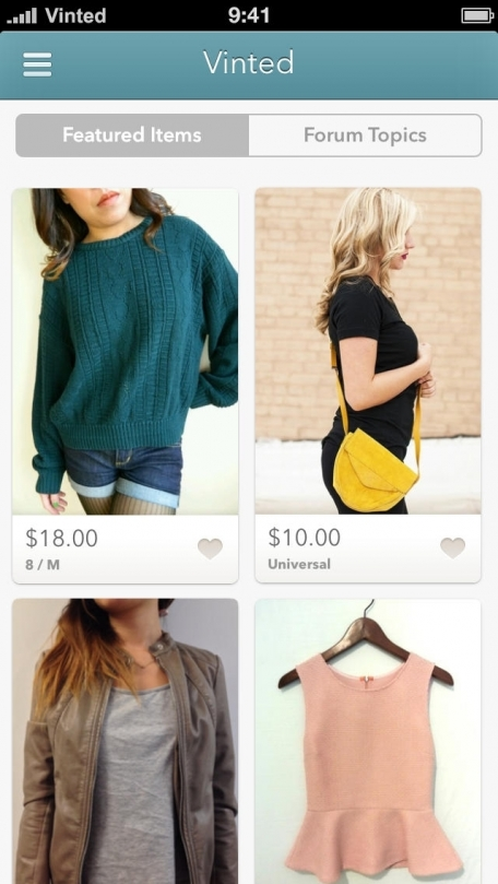 Vinted - Sell & Swap Fashion & Style