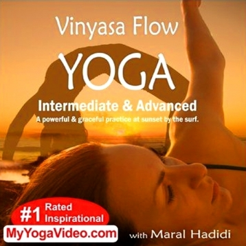 Vinyasa Flow Yoga-Intermediate and Advanced AppVideo-Maral Hadidi