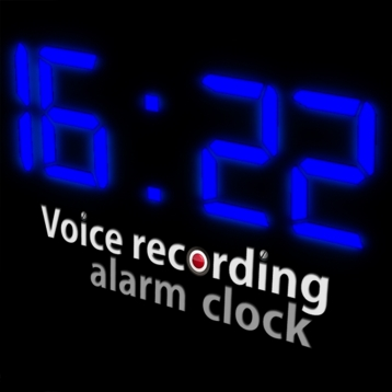 Voice Recording Alarm Clock with push notification iOS 4