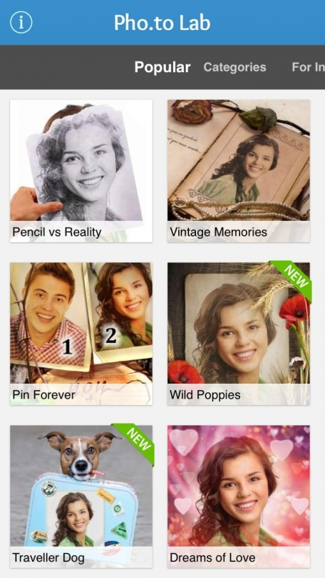 Pho.to Lab PRO HD – best professional photo editor with cool effects, beautiful filters, greeting cards & awesome frames!