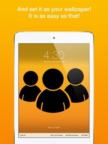 Wallpaper Fix - Rotate, scale, zoom and position your photos for custom iOS 7 backgrounds