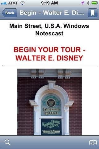 Walt Disney World - Main Street Windows