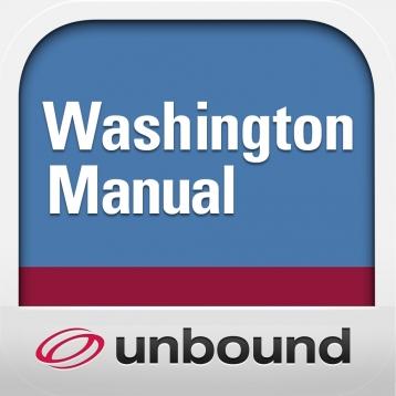 Washington Manual of Medical Therapeutics with Unbound MEDLINE/PubMed