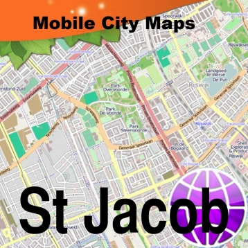 Way of St. James, St Jacobs Route Map.