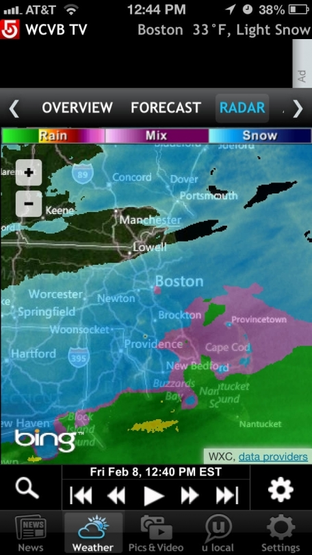 WCVB - Boston free breaking news, weather source