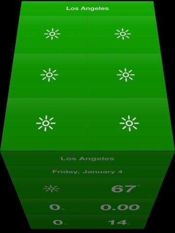 Weathercube - Gestural Weather