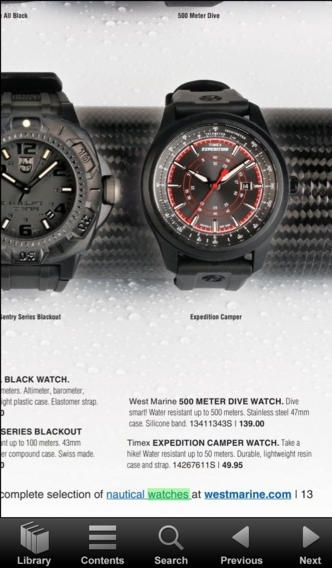 West Marine Catalogs