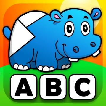 Abby - Preschool Shape Puzzle - First Word (Farm Animals, Toys, Transport, Pets, Princess, Fairy Tales...)