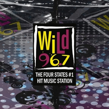 """WILD 96-7 """"The Four States #1 Hit Music Station"""""""