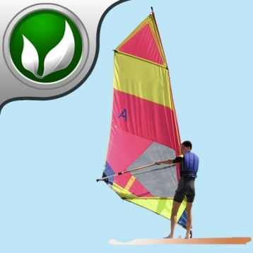 WindSurfer - The Wind Surfer Wave jumping game.