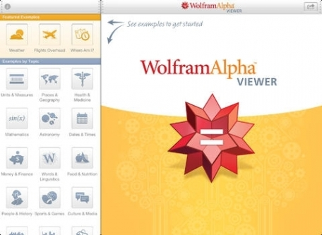 WolframAlpha Viewer