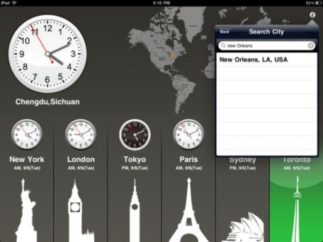 World clock hd free for ipad and iphone travel app review ios free world clock hd free for ipad and iphone gumiabroncs