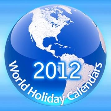 World Holiday Calendars 2012