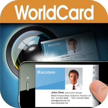 WorldCard Mobile Lite - business card reader & business card scanner