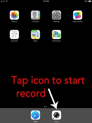 xCamera - One Touch On Screen To Record & Upload Video