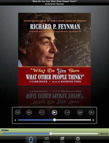 """""""What Do You Care What Other People Think?"""" (by Richard P. Feynman) (UNABRIDGED AUDIOBOOK) : Blackstone Audio Apps : Folium Edition"""